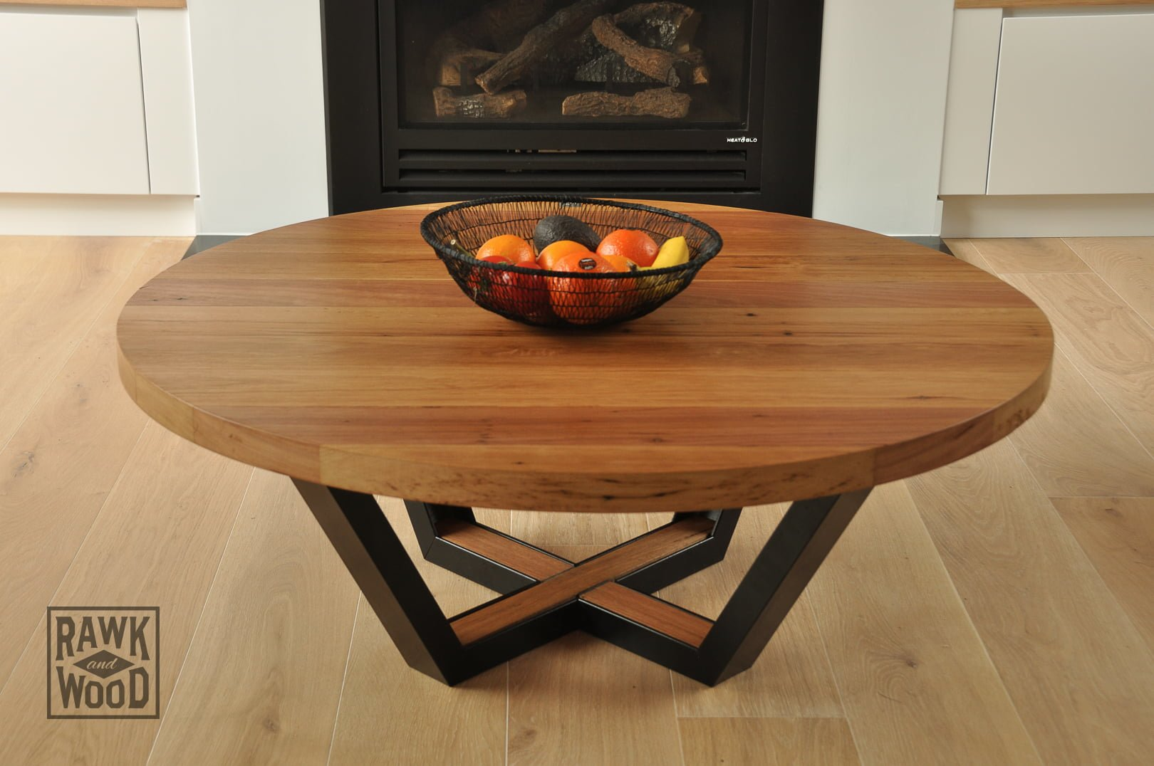 Recycled-Timber-Coffee-Table, made in Melbourne by Rawk and Wood