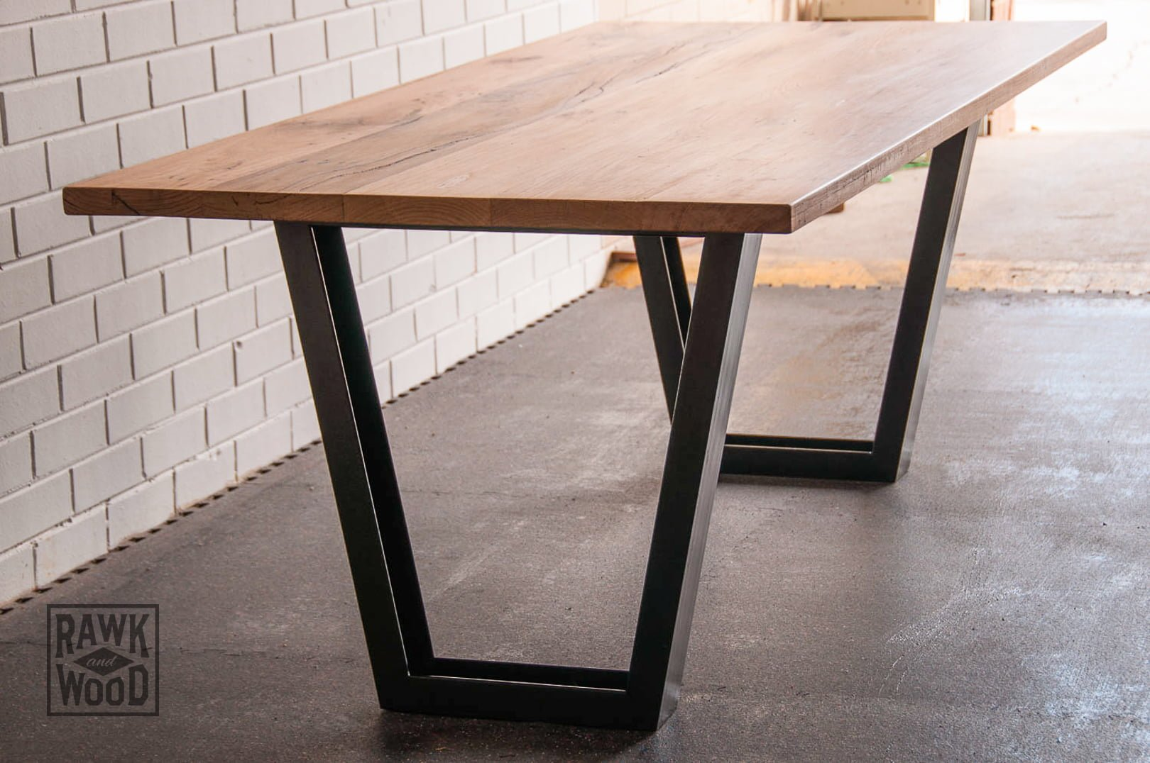 Timber Dining Table Rawk And Wood