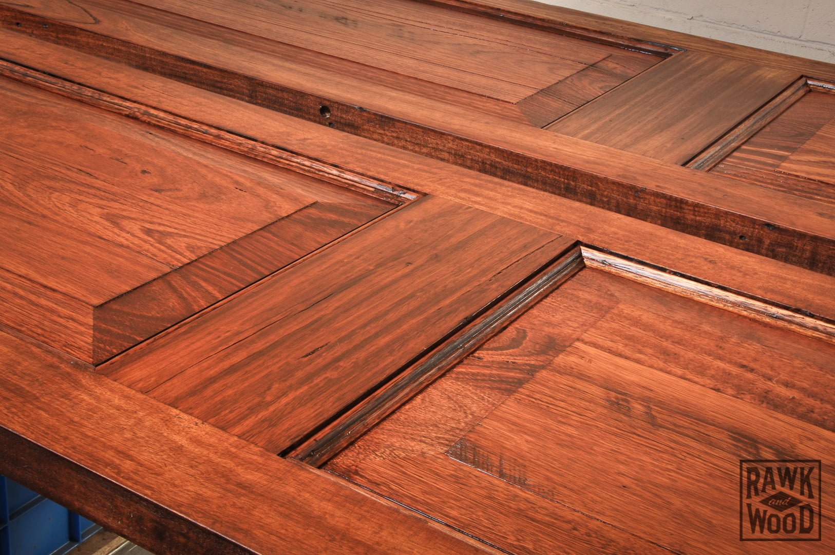 Recycled-Timber-Doors, made in Melbourne by Rawk and Wood