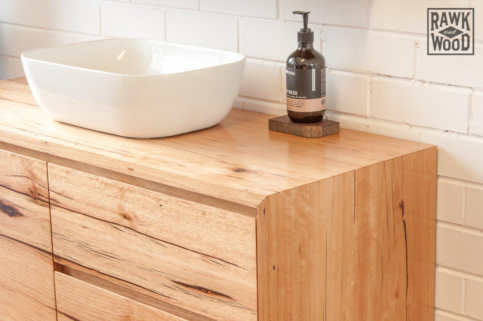 Timber Bathroom Vanity Rawk And Wood