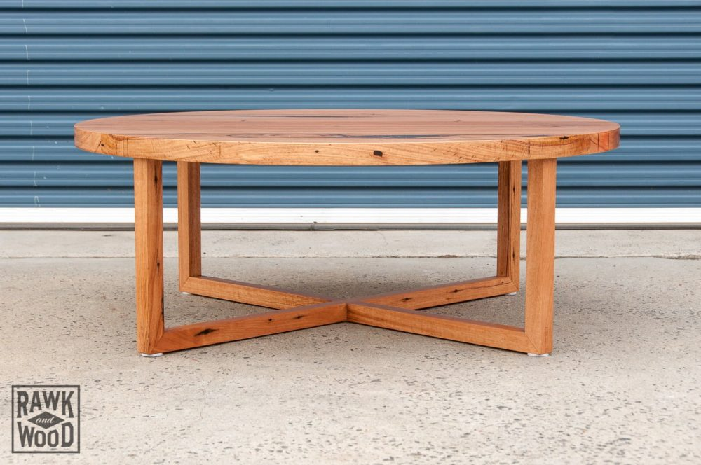 recycled-messmate-dining, made in Melbourne by Rawk and Wood