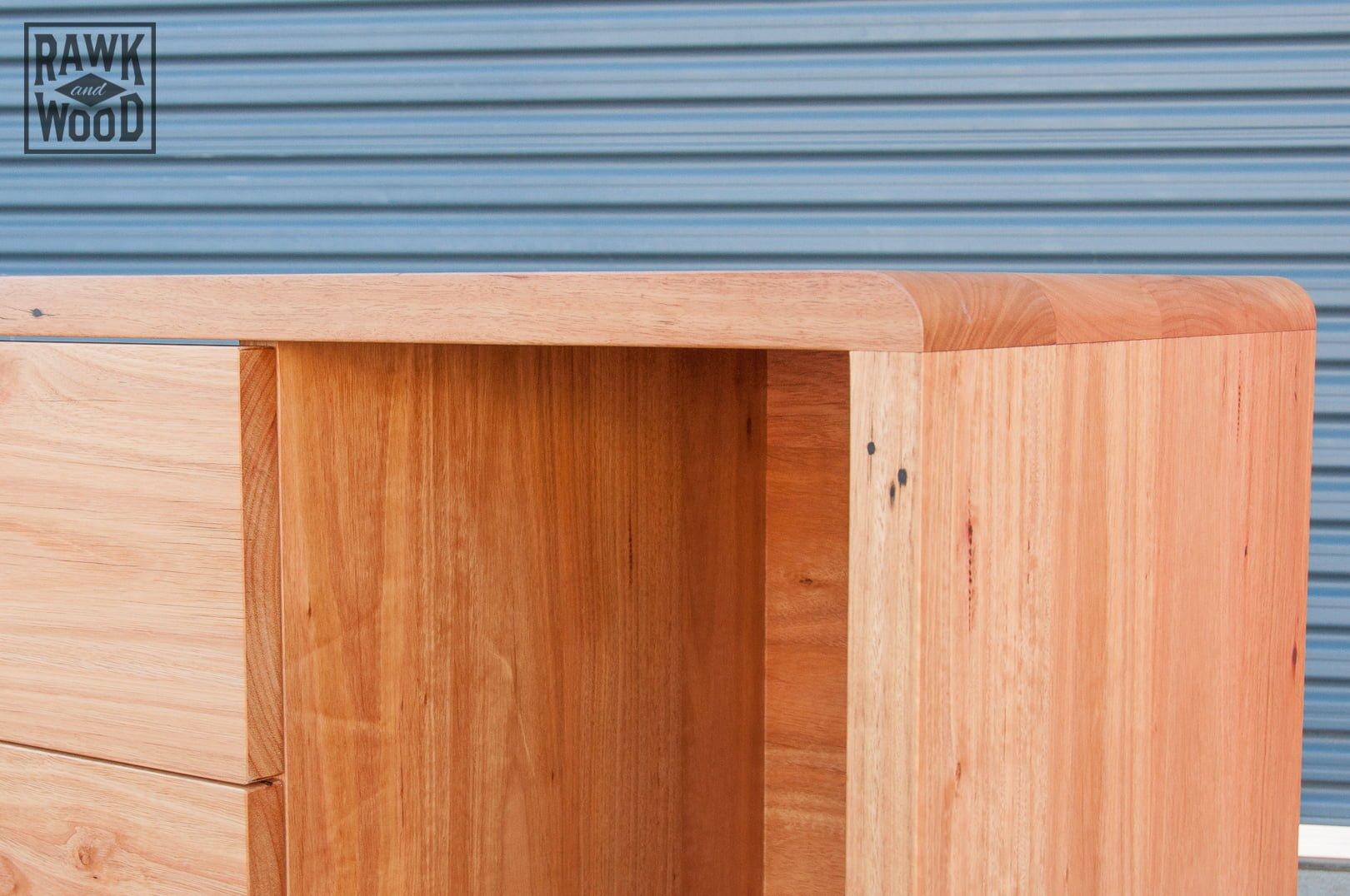 recycled-timber-baby-change-table, custom-made in Melbourne by Rawk and Wood