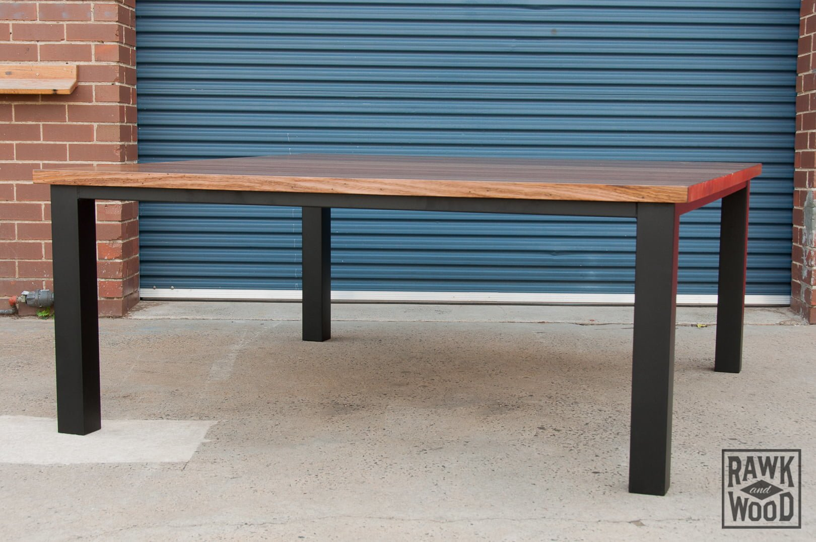 recycled-vic-ash-dining-table, custom-made in Melbourne by Rawk and Wood