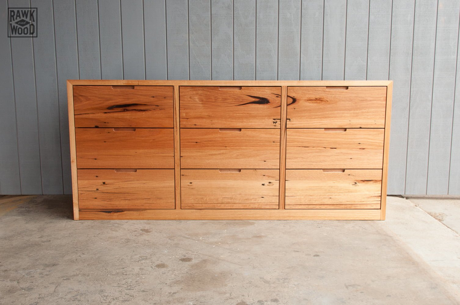 recycled-timber-dresser, made in Melbourne by Rawk and Wood